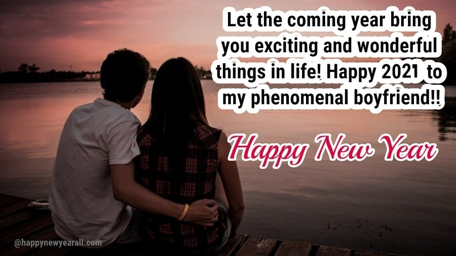 Cute New Year Quotes for Your Boyfriend