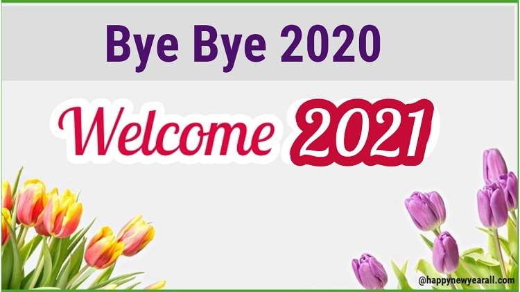 Goodbye 2020 Hello 2021