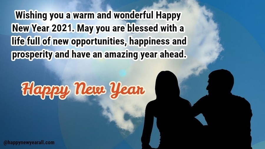 New year wishes for Ex