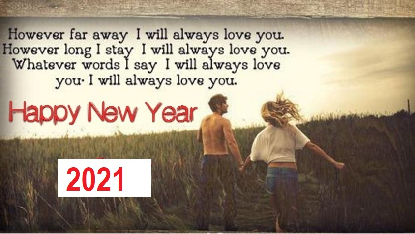 New Year 2021 Wishes for Ex