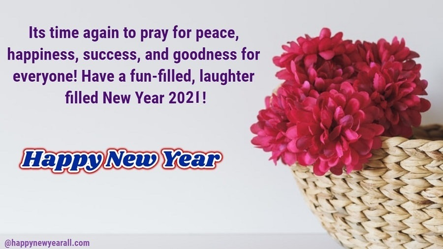 New Year Quotes Cards 2021