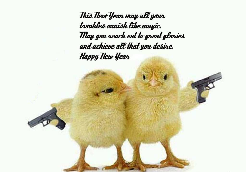 Sarcastic Happy New Year Wishes