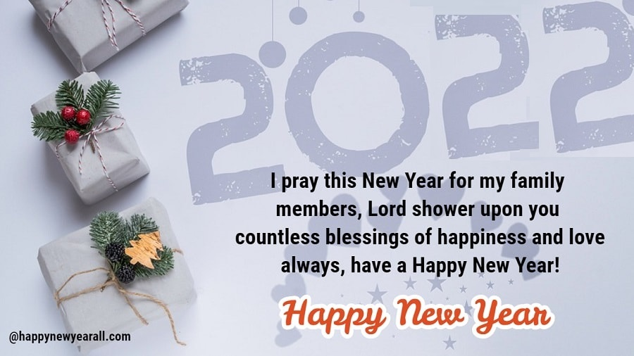 New year wishes quotes for family