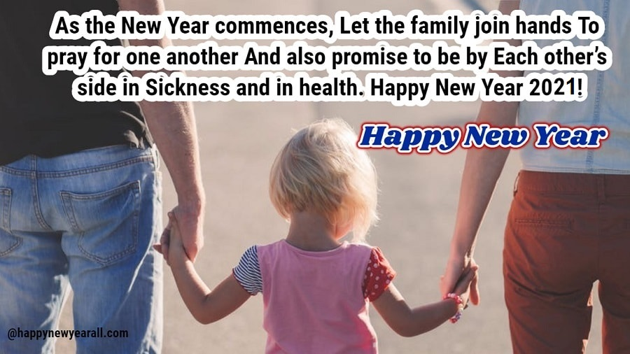 New Year Sayings for Family