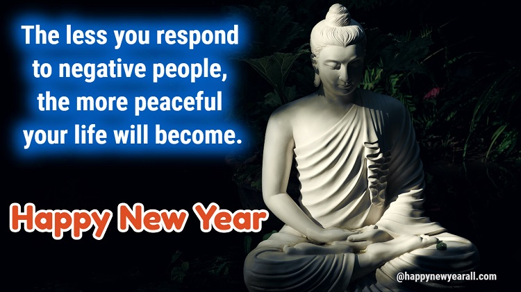 Buddha Happy New Year Quotes 2021