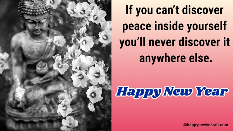 Buddha Happy New Year Quotes