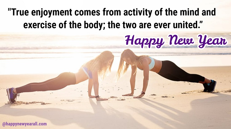 Fitness Quotes Happy New Year