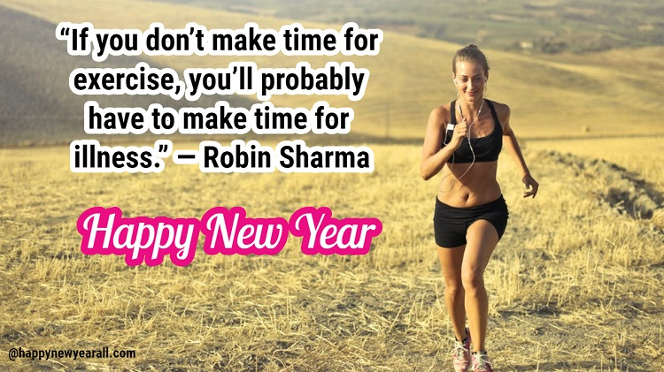 Fitness Quotes New Year