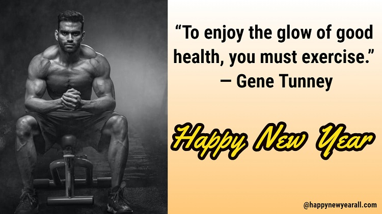 Fitness Quotes for New Year