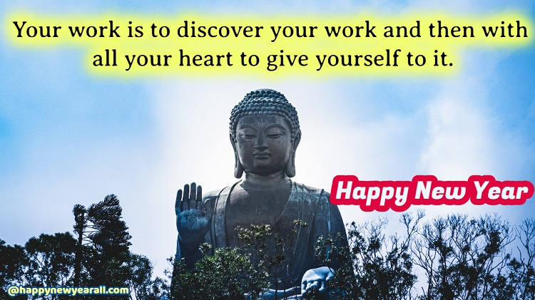 Happy New Year Buddha Quotes 2021