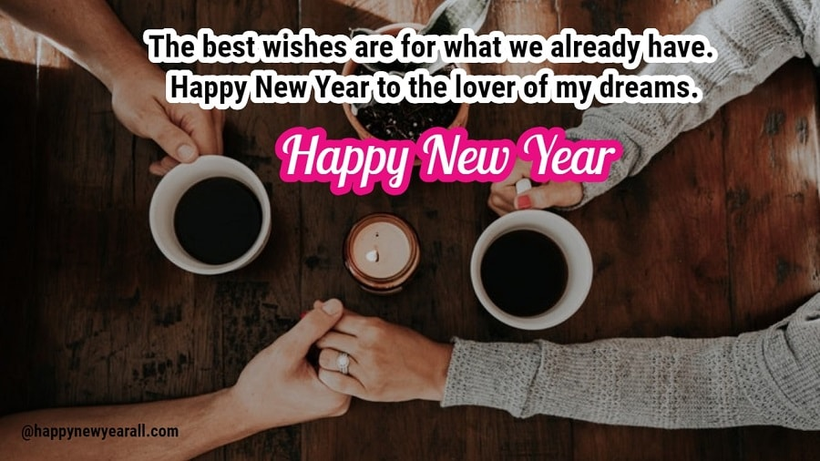 Happy New year wishes for someone special