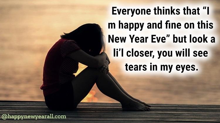 New Year Sad Quotes