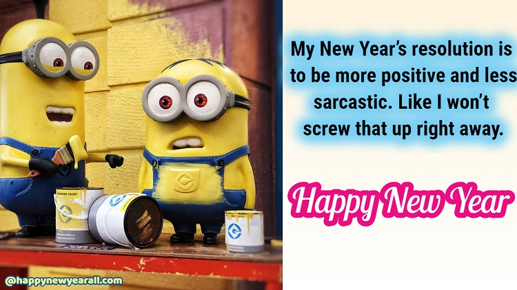 New Year Sarcastic Quotes