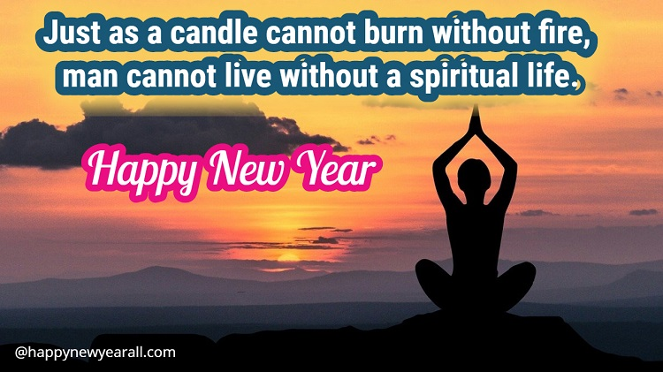 New Year Spiritual Quotes