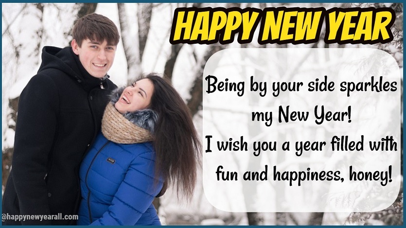 New Year Wishes for Fiance
