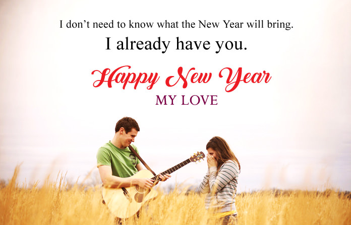 New Year Wishes for Fiance 2021