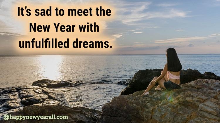 New year sad Quotes 2021